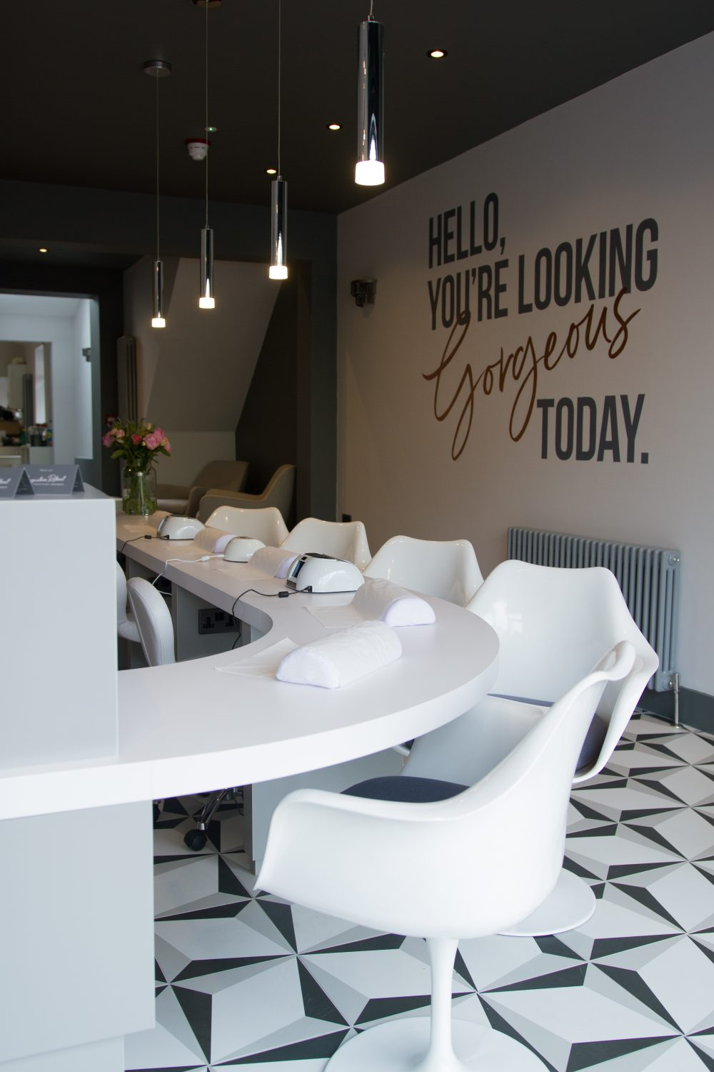 Signature retreat nail bar